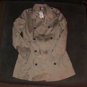 Tan women's jacket with belt- 8